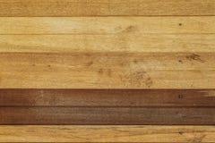 Parede da madeira de dois tons Fotos de Stock Royalty Free