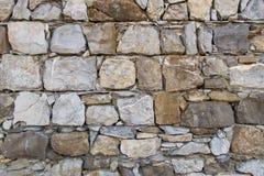 Parede da pedra Fotografia de Stock