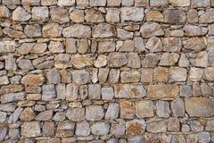 Parede da pedra Fotos de Stock