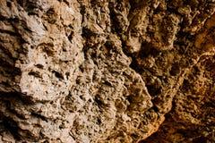 Parede da pedra calcária Imagens de Stock Royalty Free