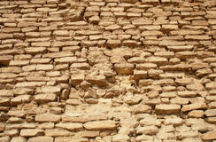 Parede da pedra calcária Foto de Stock Royalty Free