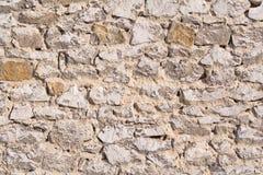 Parede da pedra calcária Fotografia de Stock