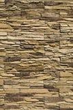 Parede da pedra decorativa Fotos de Stock Royalty Free
