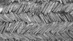 Parede da pedra seca Fotos de Stock