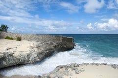 Parede da praia da ilha do paraíso Foto de Stock Royalty Free