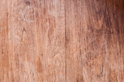 A parede da prancha da folhosa da teca, Texture a madeira velha imagens de stock royalty free