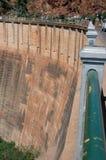 Parede da represa Imagem de Stock