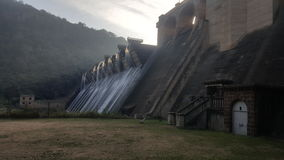 Parede da represa de Shongweni Imagens de Stock Royalty Free