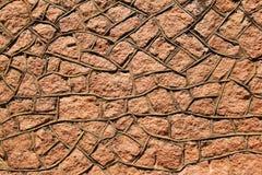 Parede da rocha - arte abstrato e força icónica Foto de Stock