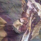 Parede da rocha da grão da fita Foto de Stock Royalty Free