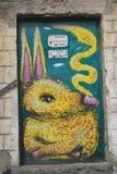 Parede da rua art Fotografia de Stock Royalty Free
