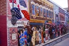 Parede da rua art fotos de stock royalty free