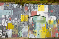 Parede da rua art foto de stock royalty free
