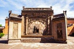 Parede da tela da cena-casa do parque do solar de Chang Fotografia de Stock