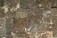 A parede da telha de pedra fotografia de stock royalty free