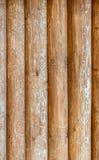 Parede da textura do fundo feita da madeira de madeira foto de stock