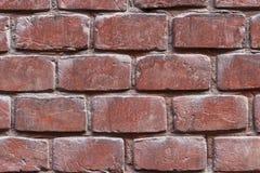 Parede da textura e do fundo dos tijolos Imagens de Stock
