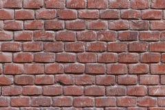 Parede da textura e do fundo dos tijolos Imagem de Stock