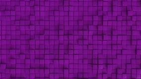 Parede dando laços sem emenda do cubo ilustração royalty free