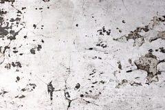 Parede danificada branco imagem de stock