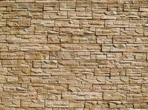 Parede das pedras decorativas Foto de Stock