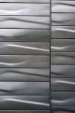 Parede de aço inoxidável Foto de Stock