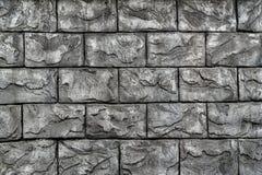 Parede de alvenaria de pedra do bloco Fotografia de Stock