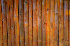 Parede de bambu Foto de Stock Royalty Free