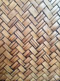 Parede de bambu Imagens de Stock