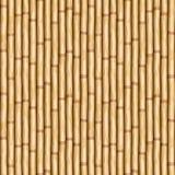 Parede de bambu da madeira do pólo ilustração royalty free