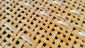 Parede de bambu das árvores Fotografia de Stock