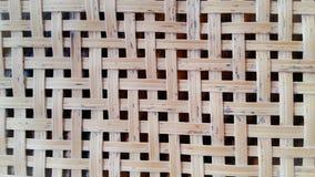 Parede de bambu das árvores Foto de Stock