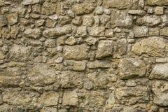 A parede de blocos do arenito de superfícies diferentes Imagens de Stock Royalty Free
