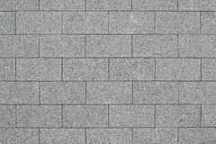 Parede de blocos do granito fotografia de stock