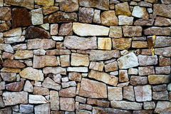 Parede de blocos multi-coloridos - fundo imagem de stock