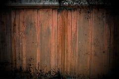 Parede de cobre de Grunge Imagens de Stock