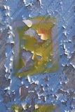 Parede de corrosão do metal Imagem de Stock