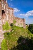 Parede de cortina exterior Kent Southern England de Dover Castle Reino Unido fotos de stock royalty free