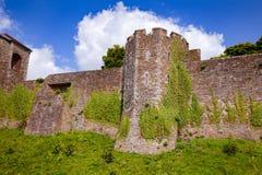 Parede de cortina exterior Kent Southern England de Dover Castle Reino Unido fotografia de stock