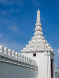 Parede de Emerald Temple, Banguecoque, Tailândia Fotos de Stock