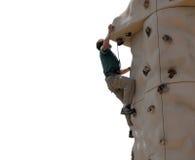 Parede de escalada - Montana imagem de stock
