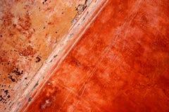 Parede de Grunge com pintura da casca Fotografia de Stock