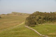 Parede de Hadrian. Fotografia de Stock