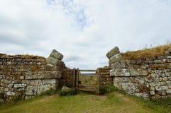 Parede de Hadrians Imagens de Stock Royalty Free