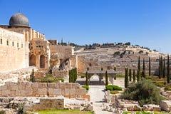 Parede de Jerusalem Imagem de Stock