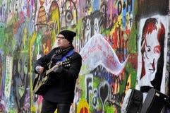 Parede de John Lennon Imagem de Stock