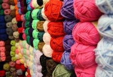Parede de lã Imagens de Stock
