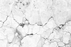 Parede de mármore branca abstrata da textura para o projeto teste padrão para o produto luxuoso do fundo ou da pele imagem de stock
