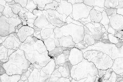 Parede de mármore branca abstrata da textura para o projeto teste padrão para o produto luxuoso do fundo ou da pele fotografia de stock