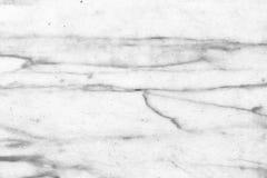 Parede de mármore branca abstrata da textura para o projeto teste padrão para o produto luxuoso do fundo ou da pele foto de stock royalty free